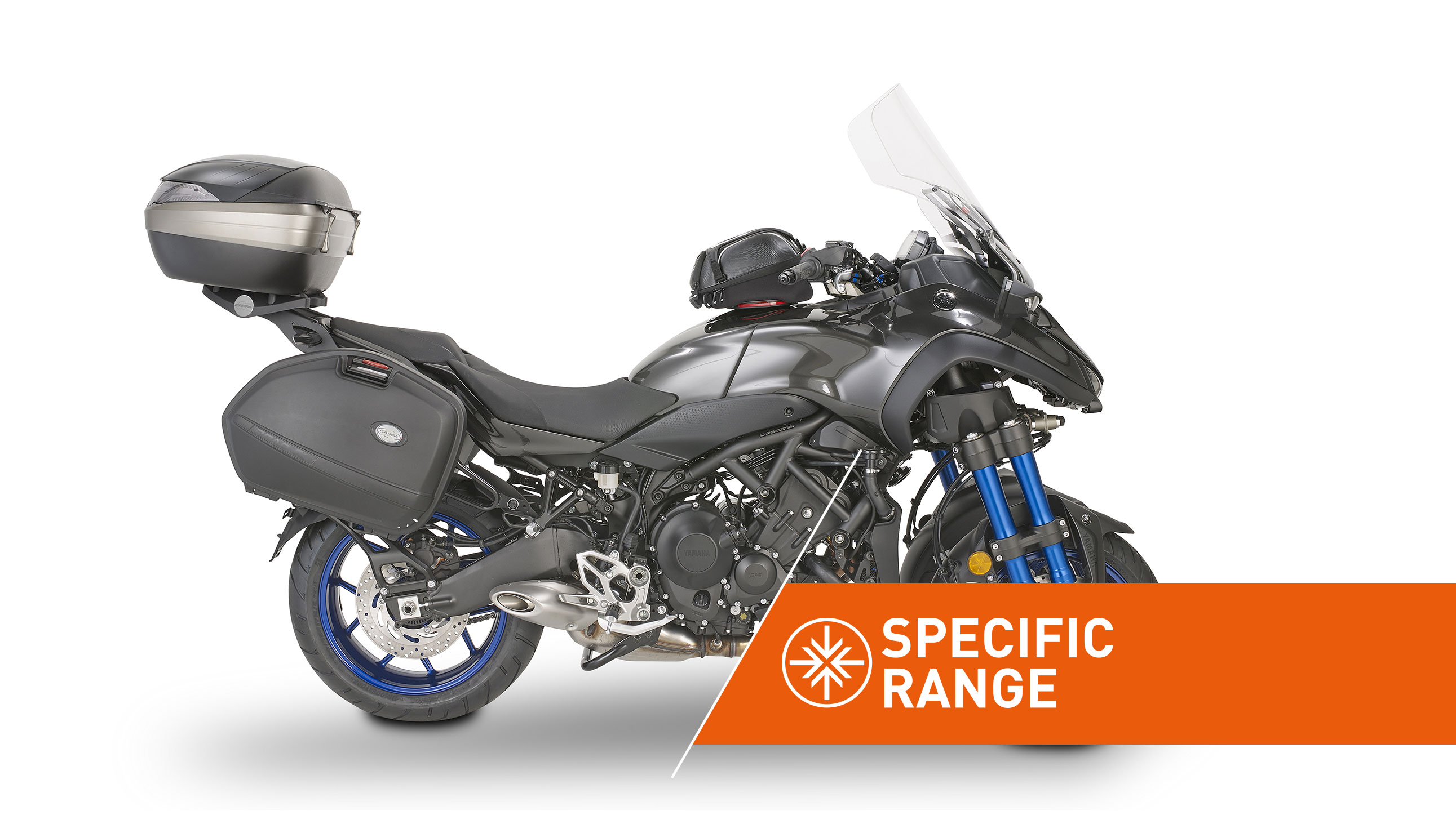 Specific range accessories for YAMAHA NIKEN by KAPPA MOTO